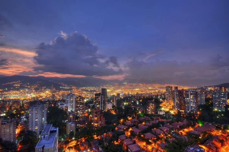 "Medellín, the ""City of Eternal Spring"""